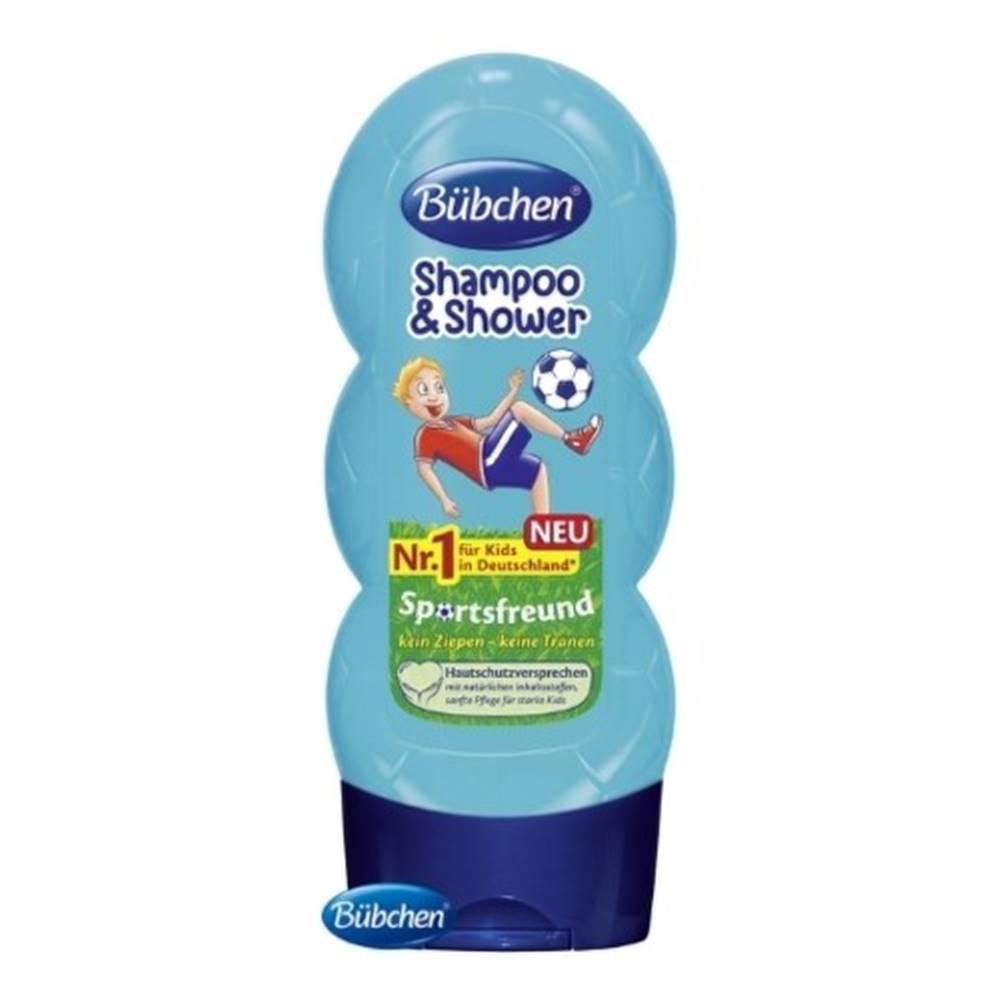 BÜBCHEN BÜBCHEN Kids šampón a sprchový gél 2v1 malý futbalista 230 ml
