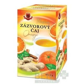 HERBEX Premium zázvorový čaj orange 20 x 2g