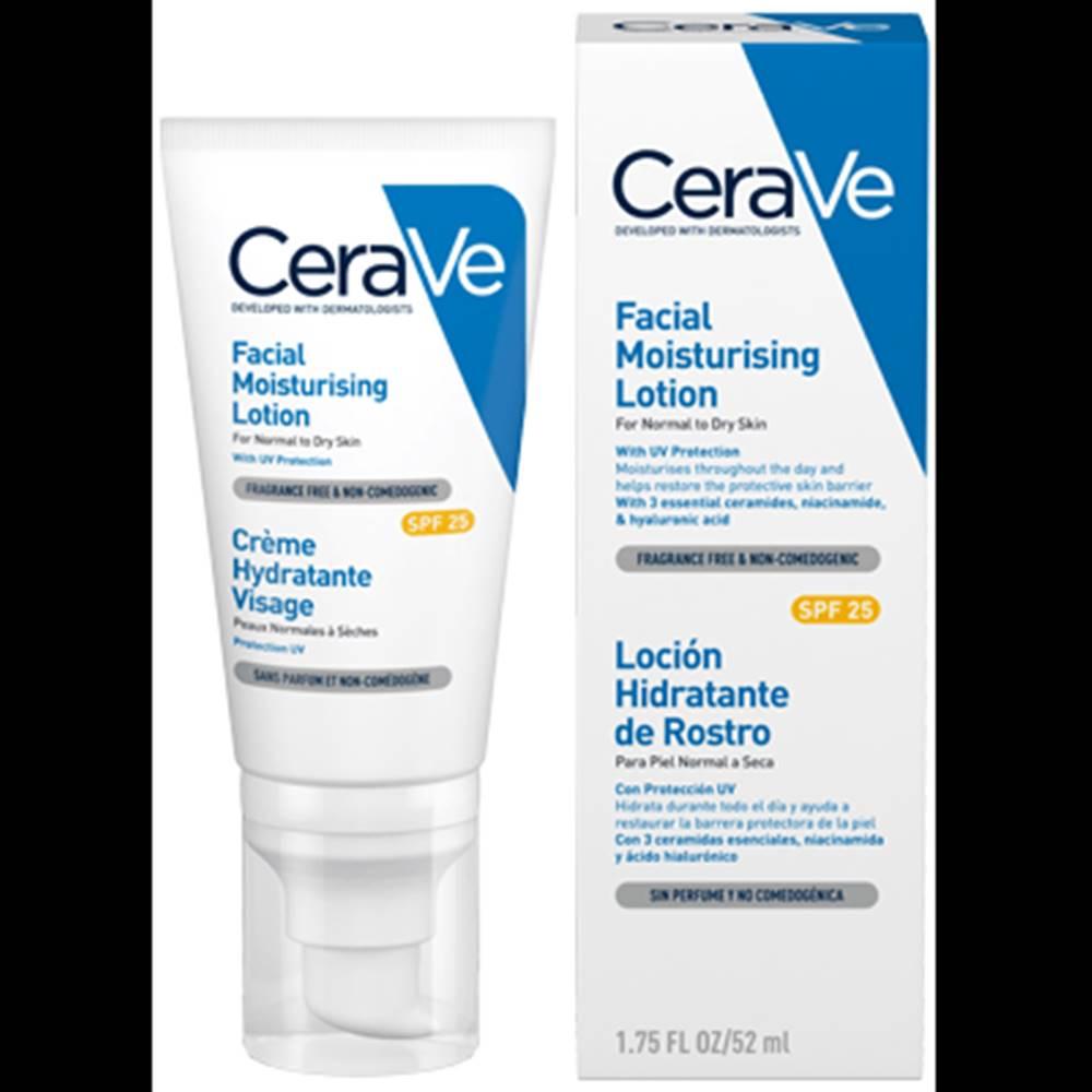 CeraVe CERAVE Hydratačný pleťový krém SPF25 52 ml