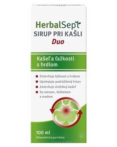 Dr. Theiss Naturwaren GmbH HerbalSept SIRUP PRI KAŠLI Duo 1x100 ml