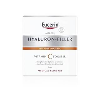 EUCERIN Hyaluron-filler vitamín C booster 3 x 8 ml