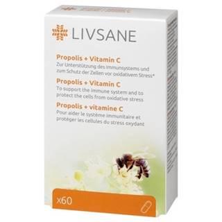 LIVSANE Propolis + vitamín C 60 tabliet