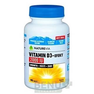 SWISS NATUREVIA Vitamín D3-effekt 2000 I.U. 90 tabliet