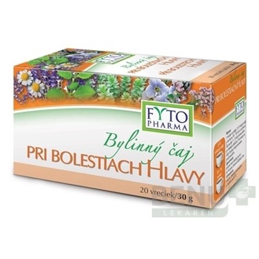 FYTO FYTO Bylinný čaj PRI BOLESTIACH HLAVY 20x1,5g