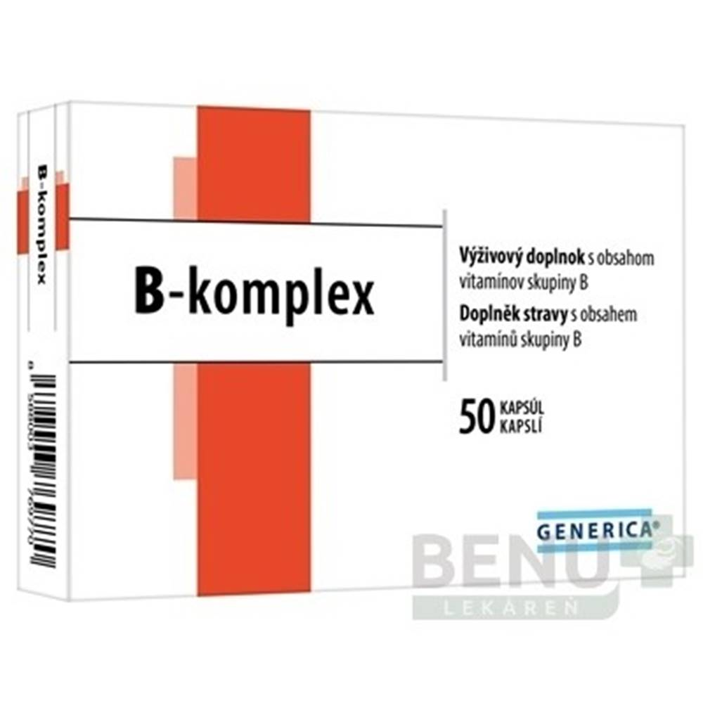 Generica GENERICA B-komplex 50 kapsúl