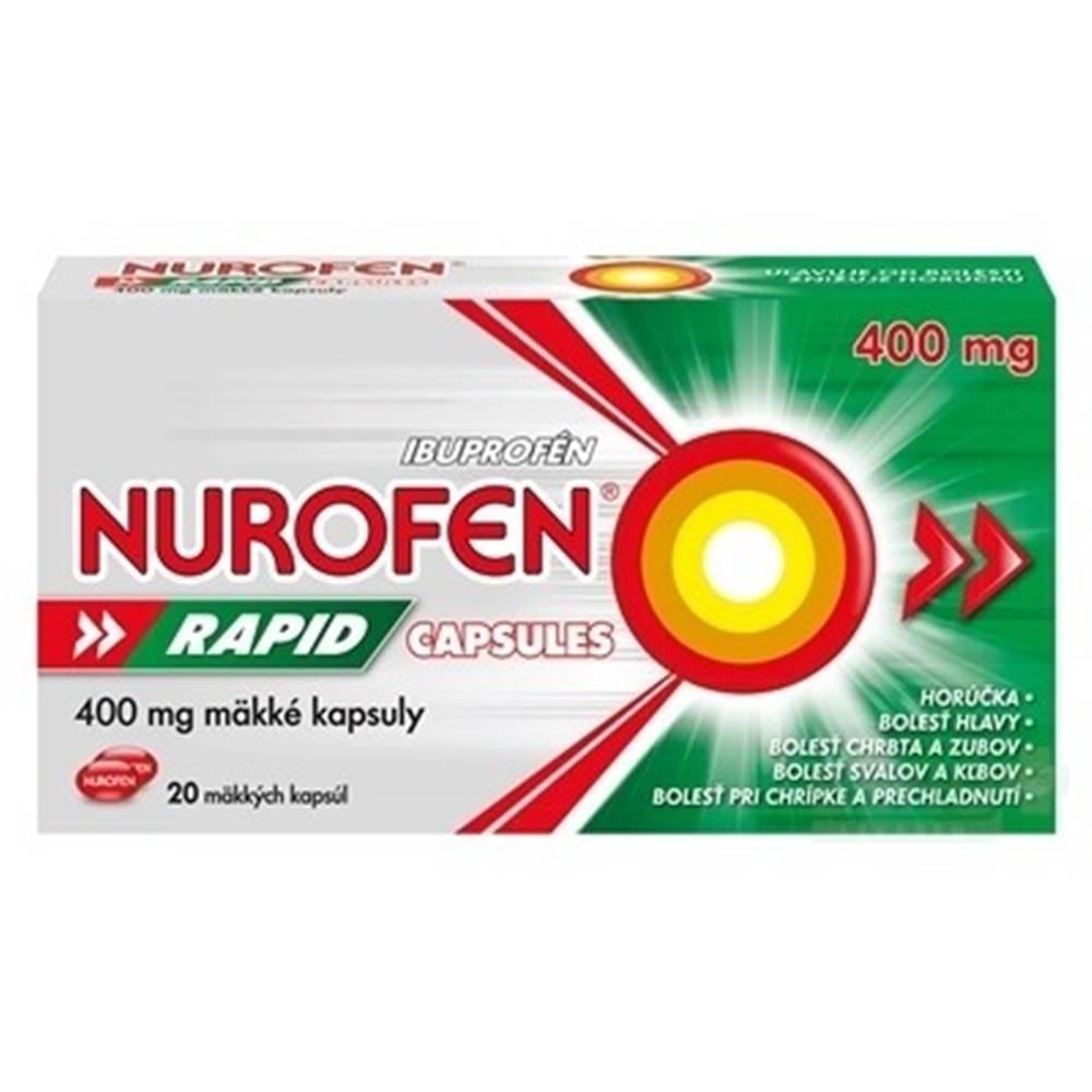 NUROFEN NUROFEN Rapid 400 mg 20 kapsúl