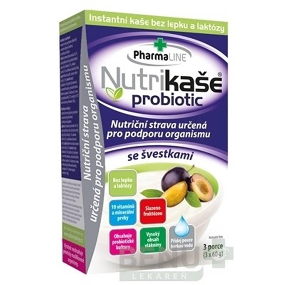 PharmaLINE NUTRIKAŠA Probiotic so slivkami 3 x 60g