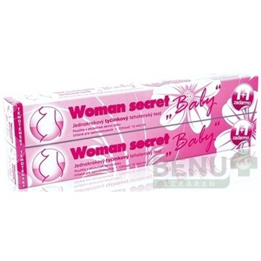 Imperial Vitamins s.r.o Woman secret BABY tehotenský test ks