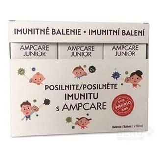 AMPCARE Junior imunitné balenie sirup 3 x 150 ml