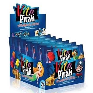 BIOTTER VitaPiráti vitamínové lízanky mix príchutí 24 kusov