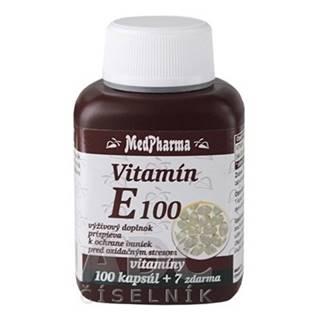 MEDPHARMA Vitamín E 100 mg 100 + 7 tabliet ZADARMO