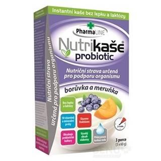 NUTRIKAŠA Probiotic čučoriedka a marhuľa 3 x 60g