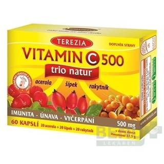 TEREZIA Vitamín C 500 trio natur 60 kapsúl