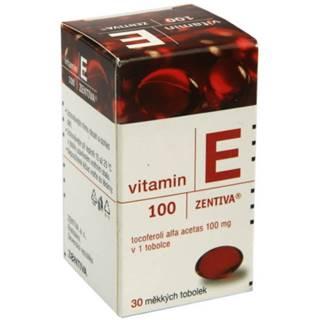 ZENTIVA Vitamín E 100 mg 30 kapsúl