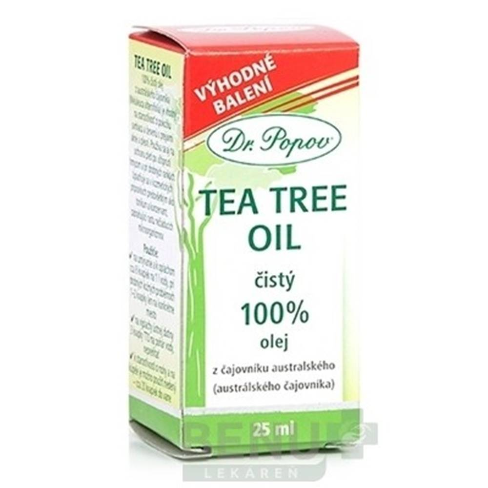Dr. Popov DR. POPOV TEA TREE OIL 25ml