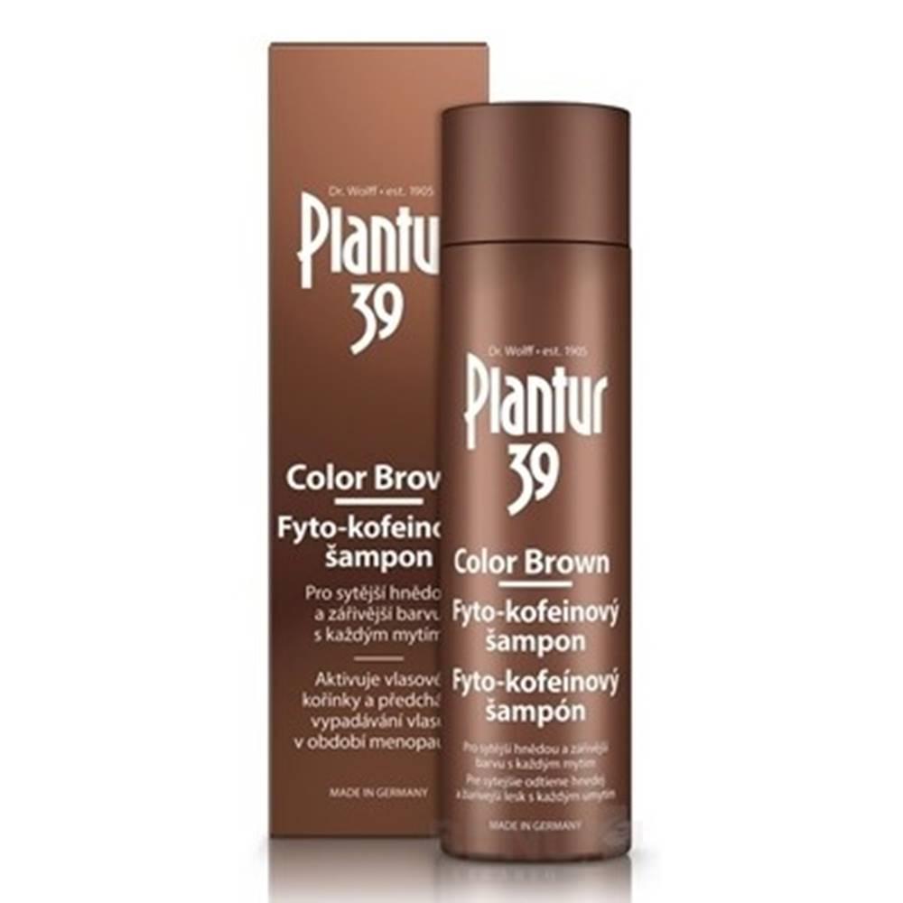 PLANTUR PLANTUR 39 Color brown fyto-kofeínový šampón 250 ml