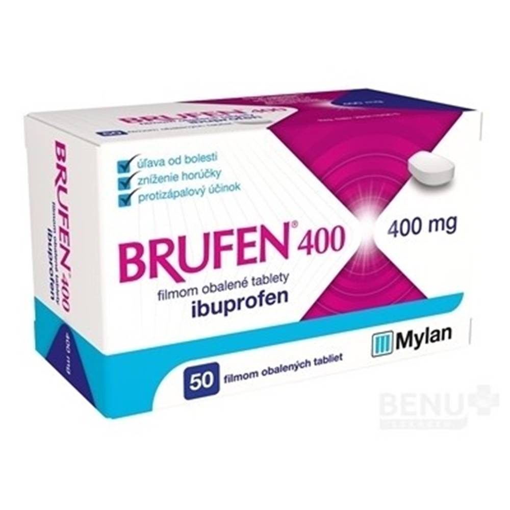 Brufen BRUFEN 400 mg 50 tabliet