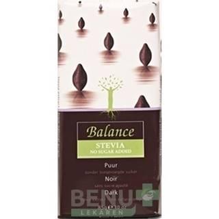 BALANCE Horká čokoláda so sladidlom zo stévie 85 g