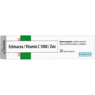 GENERICA Echinacea/Vitamin C 1000/Zinc tbl eff 20