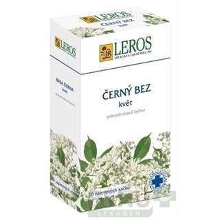 LEROS Baza čierna kvet 20 x 1 g