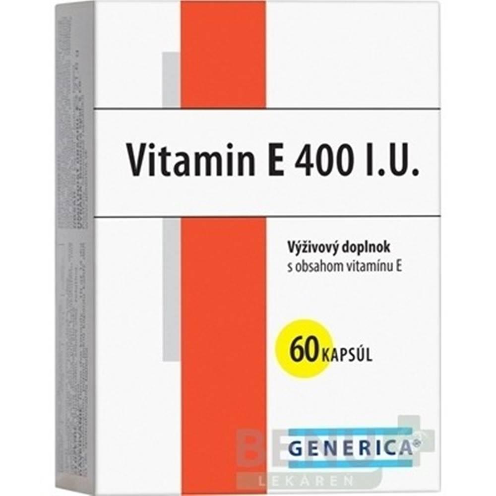 Generica GENERICA Vitamin E 400 I.U. cps 60
