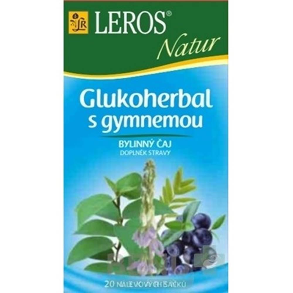 Leros LEROS NATUR GLUKOHERBAL S GYMNEMOU (Diabet. zmes) 20x1g