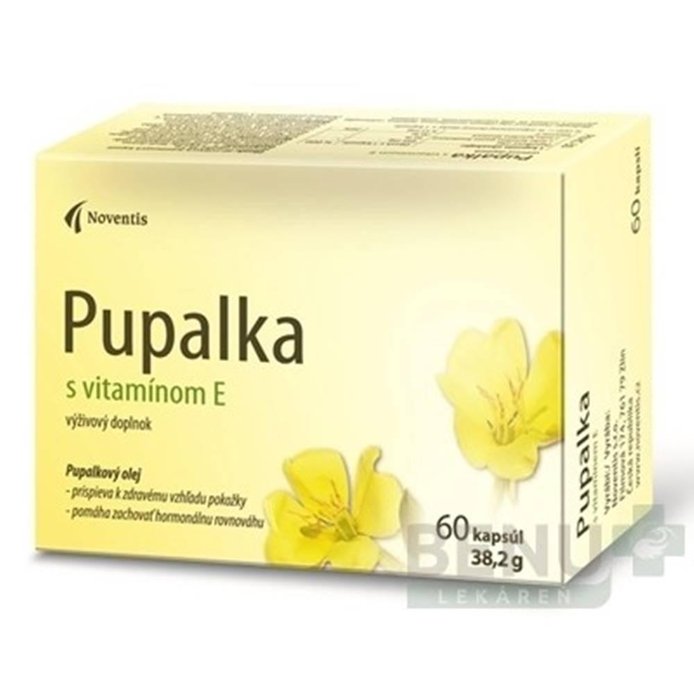 NOVENTIS NOVENTIS Pupalka s vitamínom E 60 kapsúl