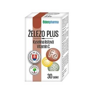 Edenpharma Železo Plus Vitamín C 30tbl