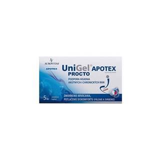 UniGel APOTEX PROCTO 5 čapíkov