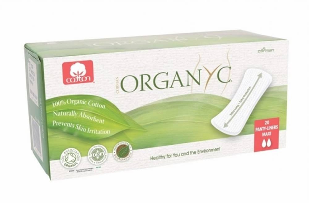 Organyc Organyc Bio menstruačné vložky slipové předĺžené maxi