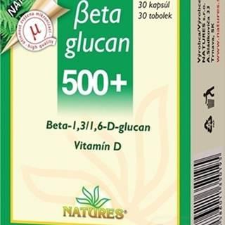Natures Betaglucan 500+