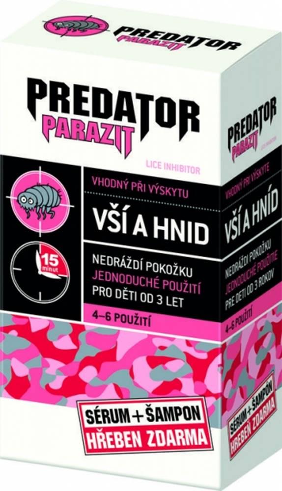 Predator Predator Parazit pri výskyte vší a hníd pack