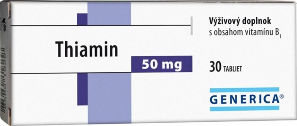 Generica Generica Thiamin 50 mg