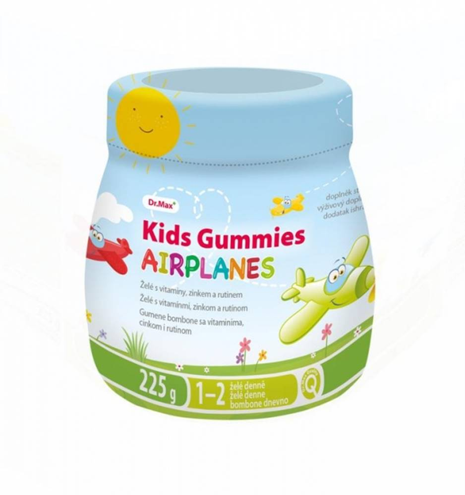 Dr.Max Dr.Max Kids Gummies AIRPLANES