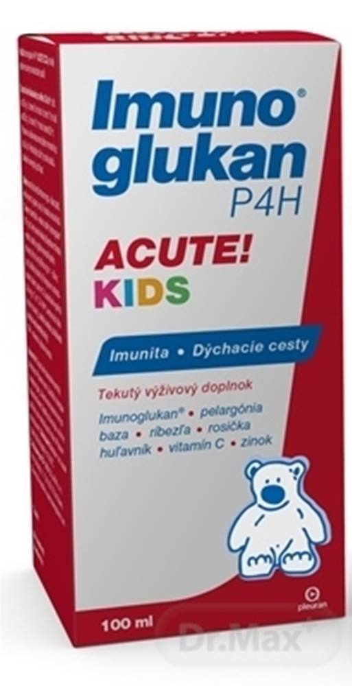 Imunoglukan Imunoglukan P4h acute kids