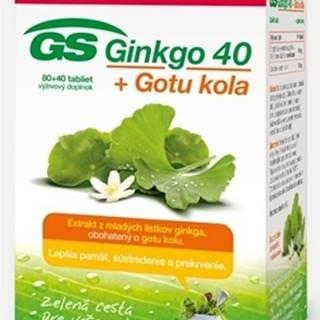 Gs Ginkgo 40 + gotu kola