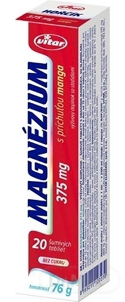 Vitar Vitar MagnÉzium 375 mg