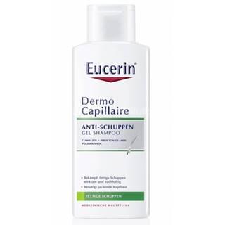 Eucerin Dermo Capillaire gélový šampón proti mastným lupinám 250 ml
