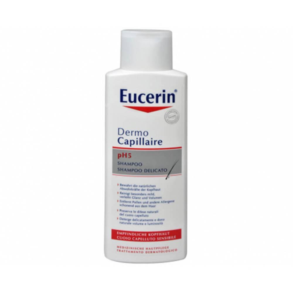Beiersdorf Eucerin Dermo Capillaire pH5 šampón pre citlivú pokožku 250 ml