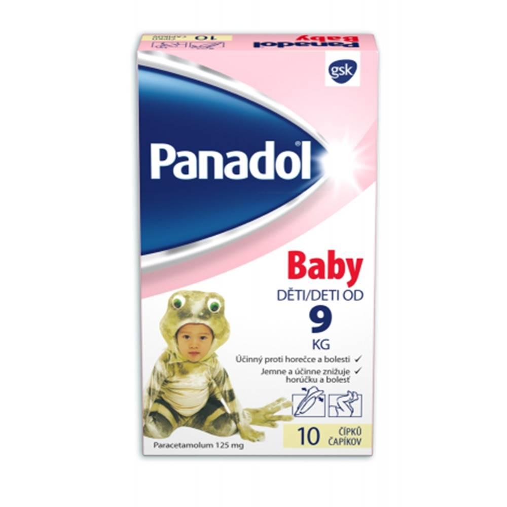 Glaxo Smith Kline Panadol Baby čapíky 10 ks