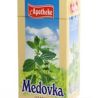 Apotheke čaj medovka lekárska