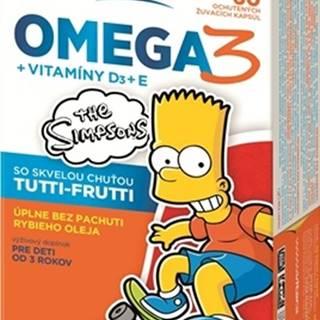 Revital Omega 3 + vitamÍny d3 + e the simpsons