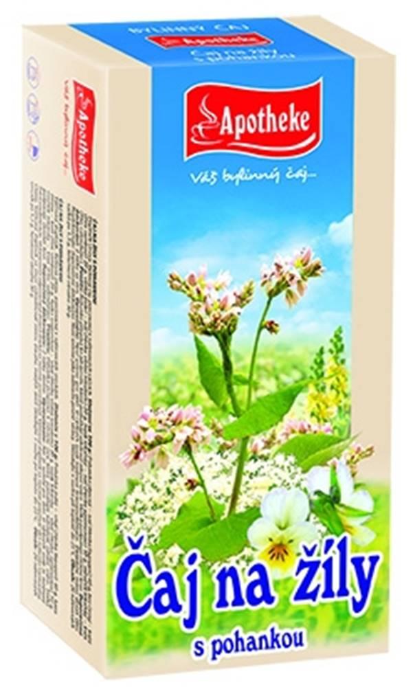 Apotheke Apotheke bylinný čaj na žily s pohánkou