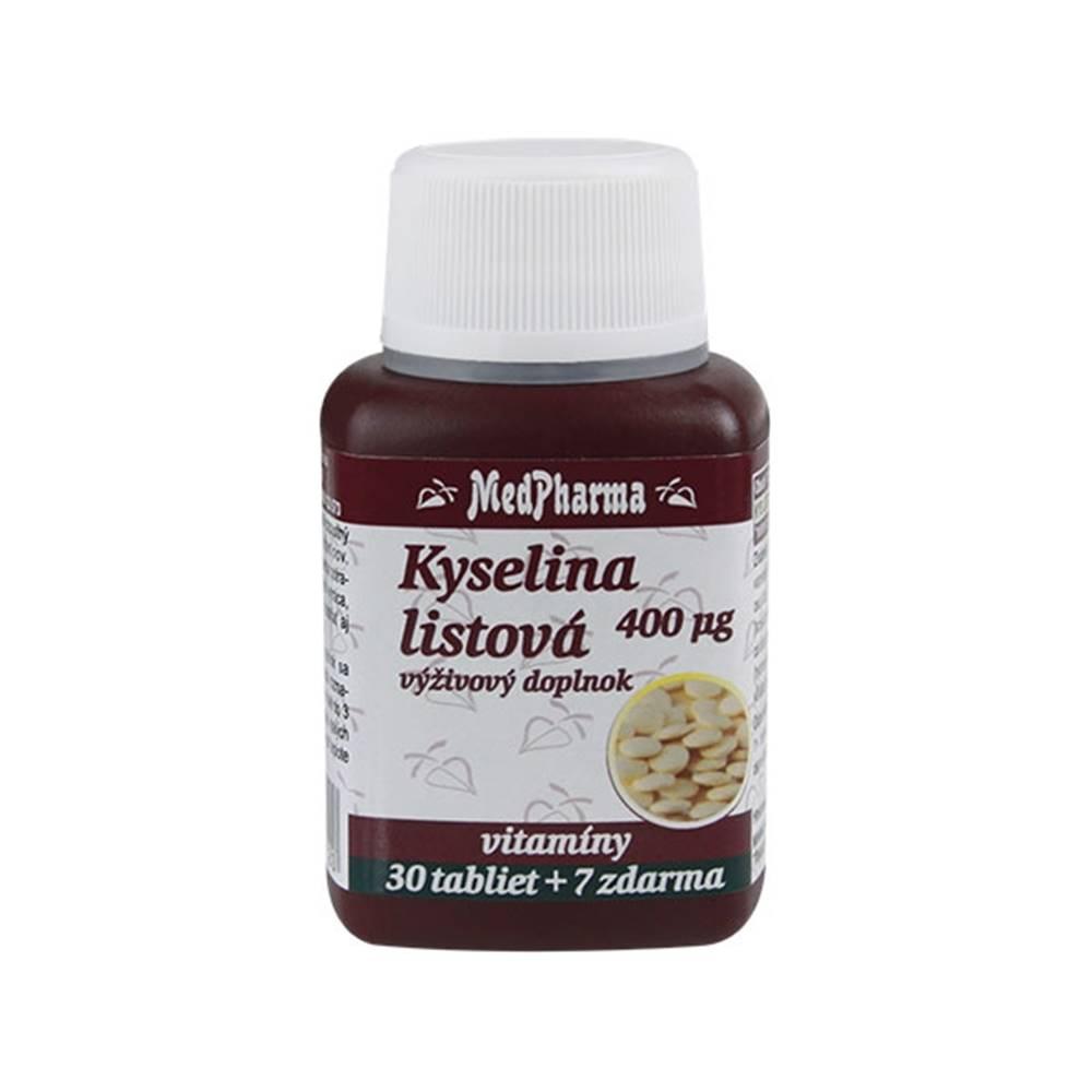 Medpharma Medpharma Kyselina listovÁ 400 mcg