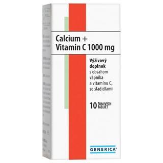 Generica Calcium + vitamin c 1000 mg