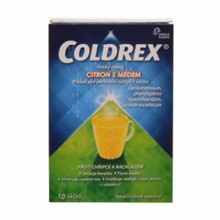 Coldrex Horúci nápoj citrón s medom 10 vrecúšok