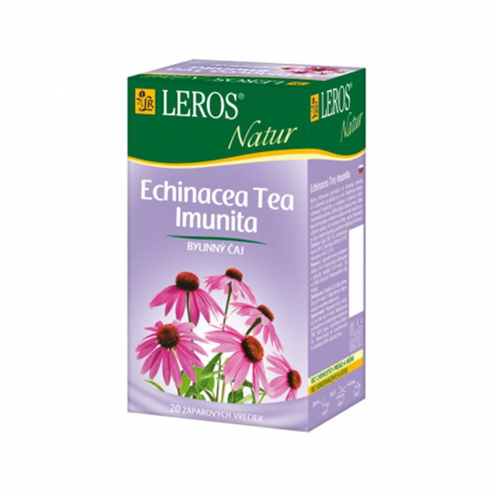 Leros, s.r.o. LEROS NATUR Echinacea Tea Imunita porcovaný čaj 20x2g