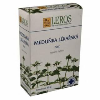 LEROS MEDOVKA LEKÁRSKA vňať sypaná bylina 1x50 g