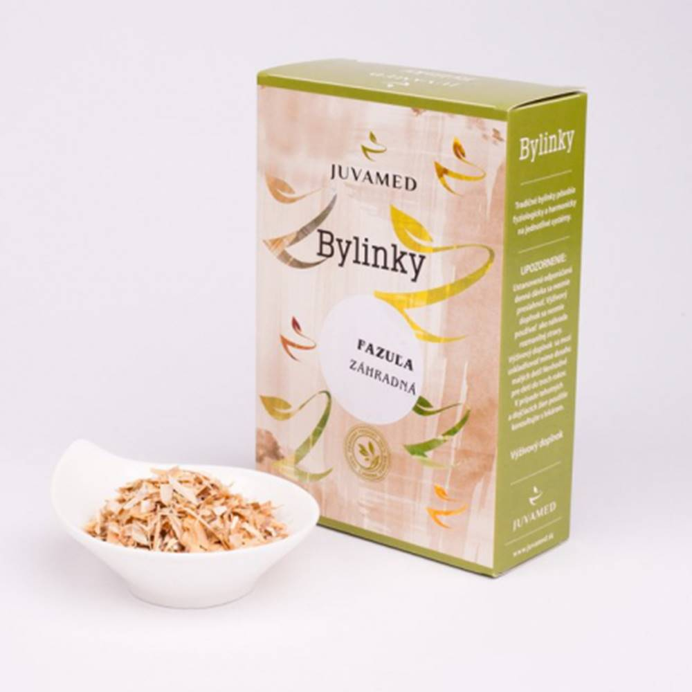 Juvamed Juvamed Fazuľa záhradná -PLOD sypaný čaj 40g