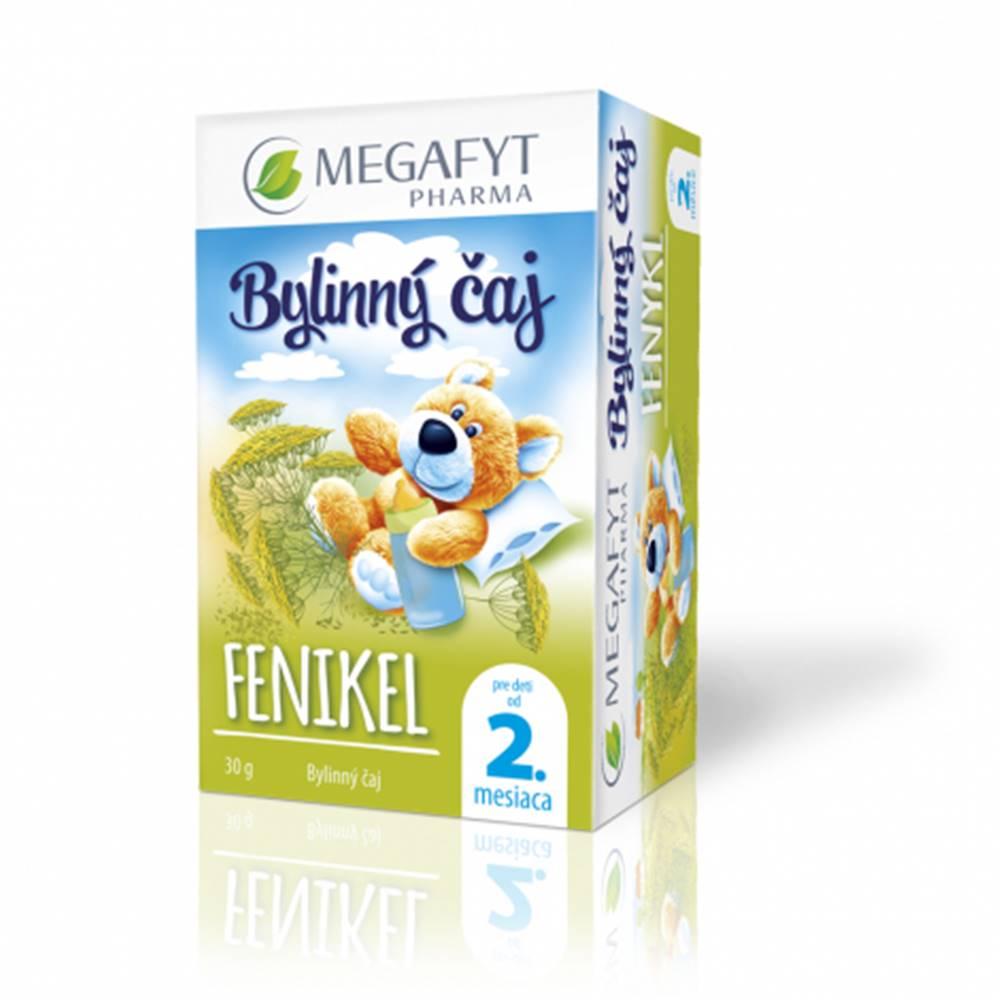 Megafyt MEGAFYT Bylinný čaj FENIKEL pre deti od 2. mesiaca, 20x1,5 g (30 g)